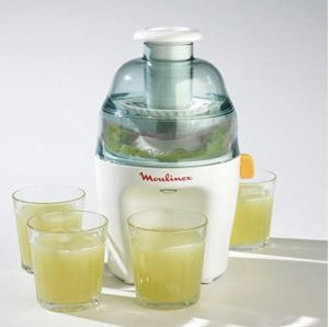 Licuadora centrifugado Moulinex Vitae JU200045 con zumos
