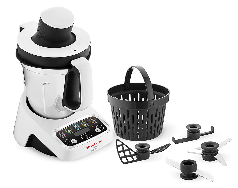 Recetas robot cocina moulinex maxichef