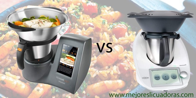 Thermomix TM6 vs Taurus Mycook Touch