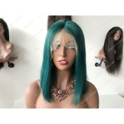 remy hair 13 4 lace front bob wig