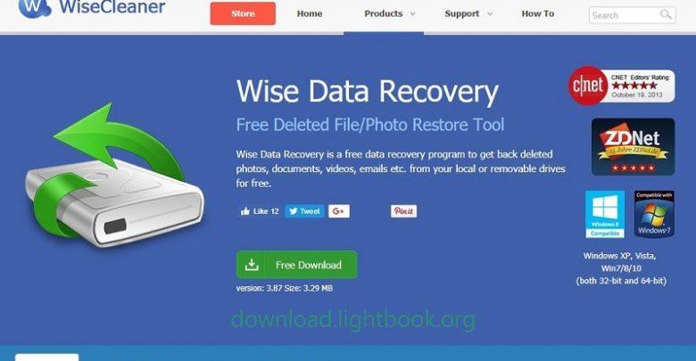 برنامج Wise Data Recovery 2019 لاستعادة الملفات المحذوفة