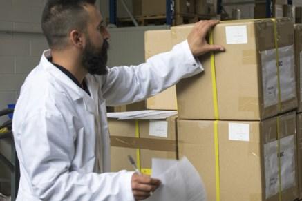 Preparazione e verifica della merce in uscita / Delivery check