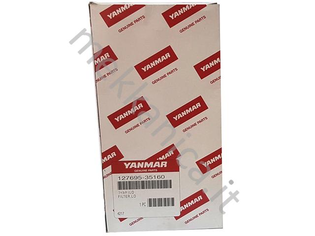 Yanmar Filter LO Oil 127695-35160 Filtro olio marino