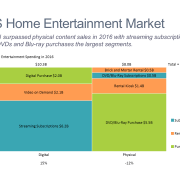 Home Entertainment Market Marimekko Chart/Mekko Chart