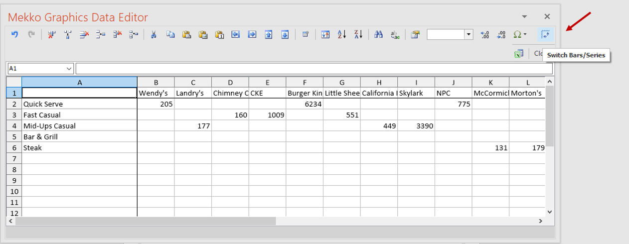 Chart Data Sheet Image