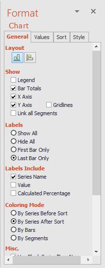 Format Chart Task Pane