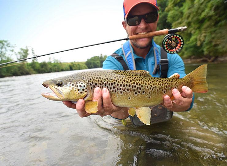 Un guide de pêche, pourquoi pas?