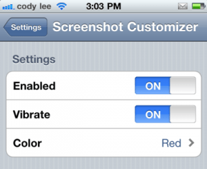 Screenshot Customizer-Meladevice