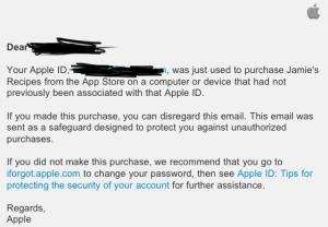 email apple