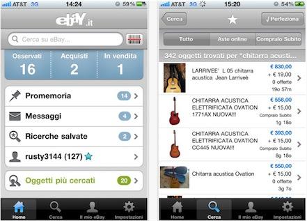 eBay classico AppStore