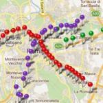 applicazione iphone iMetro Rome
