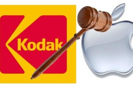 Kodak cuasa legale con Apple ed HTC