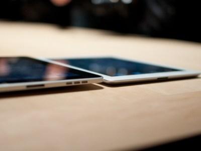 confronto iPad e iPAd 2