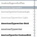 Libro Font applicazione App store