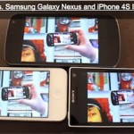 confronto iphone 4S vs Galaxy Nexus vs Sony Experia S