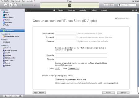 creazione-Apple ID