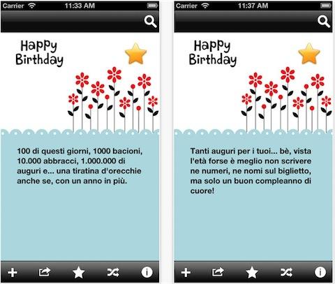 Messaggi compleanno app store for Messaggi divertenti di buon anno