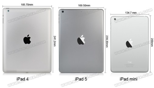 iPad5-iPad4-iPadMini