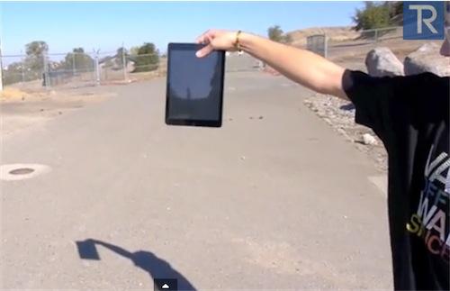 Drop Test iPad Air