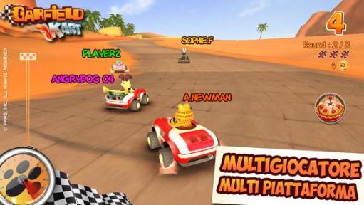 Garfield Kart App Store