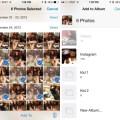 Album foto iOS
