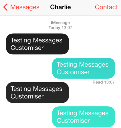 Messages Customizer