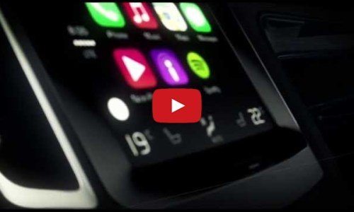 Volvo demo CarPlay