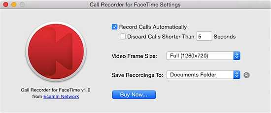 Call Recorder Facetime Mac