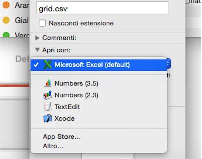 applicazioni default Mac
