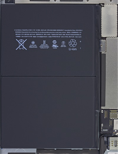 sfondo interno iPad Air
