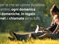 Vodafone domeniche in regalo