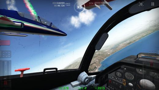 Simulatore di volo Frecce Tricolori