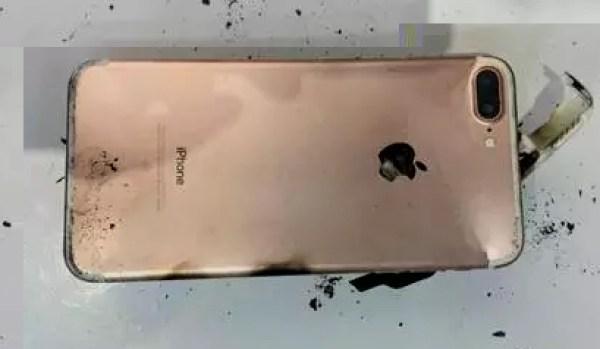 iPhone 7 Plus esplosione