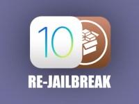 Re jailbreak iOS 10.2