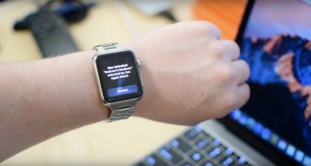 sbloccare il Mac con Apple Watch