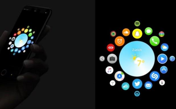 iOS 11 concept