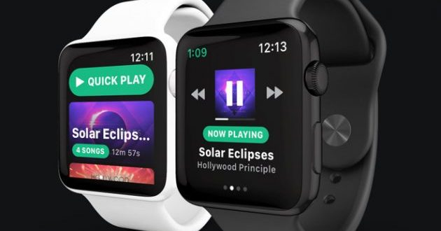 Spotify su Apple Watch arriverà entro fine anno