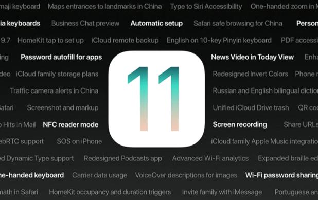 Dark Mode su iOS 11