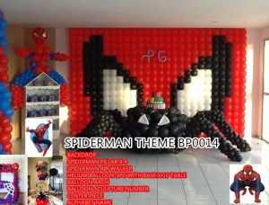 SPIDERMAN THEME BP0014