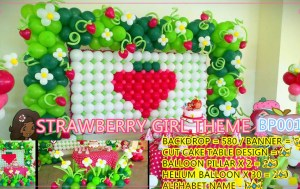 STRAWBERRY GIRL THEME BP0010