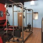 lady training room