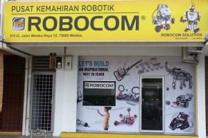 Robocom robotic melaka raya