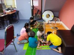 robotic children class