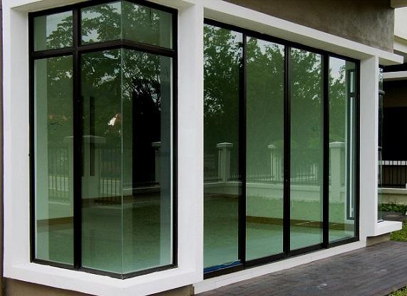 LK Glass Aluminium  Ceiling  Window Sliding Door