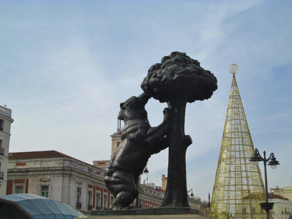 viver em Madrid urso