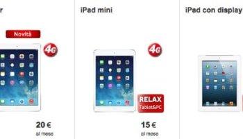 iPad Air Vodafone