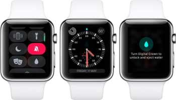 Apple Watch blocco acqua