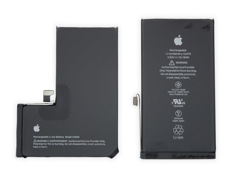 La batteria dell'iPhone 13 Pro e dell'iPhone 13
