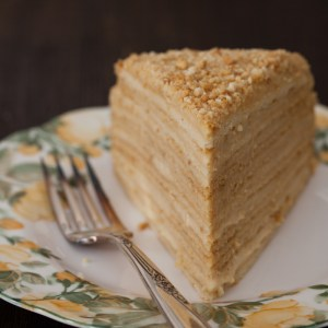 "Russian Monday: ""Medovik"" - Honey Cake"