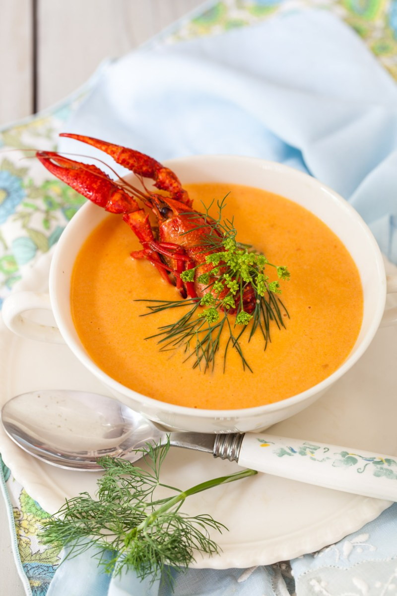 Luxurious Lobster Bisque Cooking Melangery
